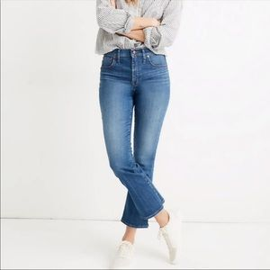 Madewell cali demi boot jeans petite